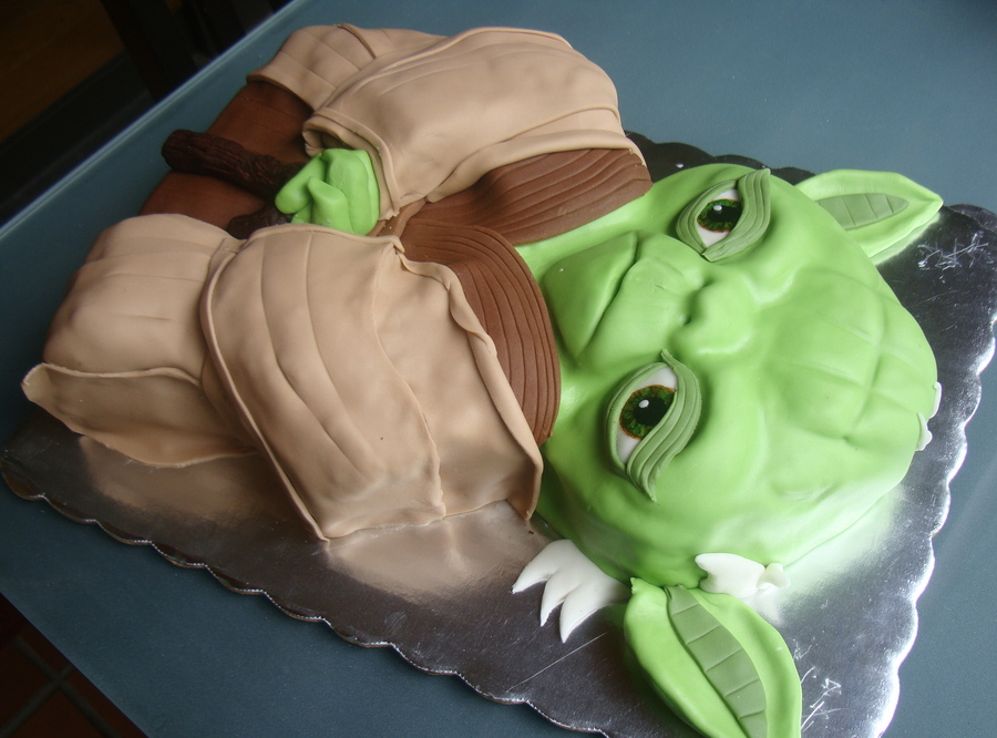 Yoda Cakes Decoration Ideas Little Birthday Cakes