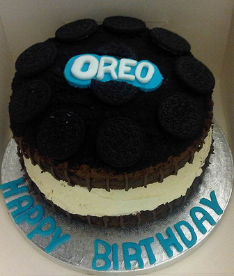 Oreo Cookie Cake Decoration Ideas Little Birthday Cakes